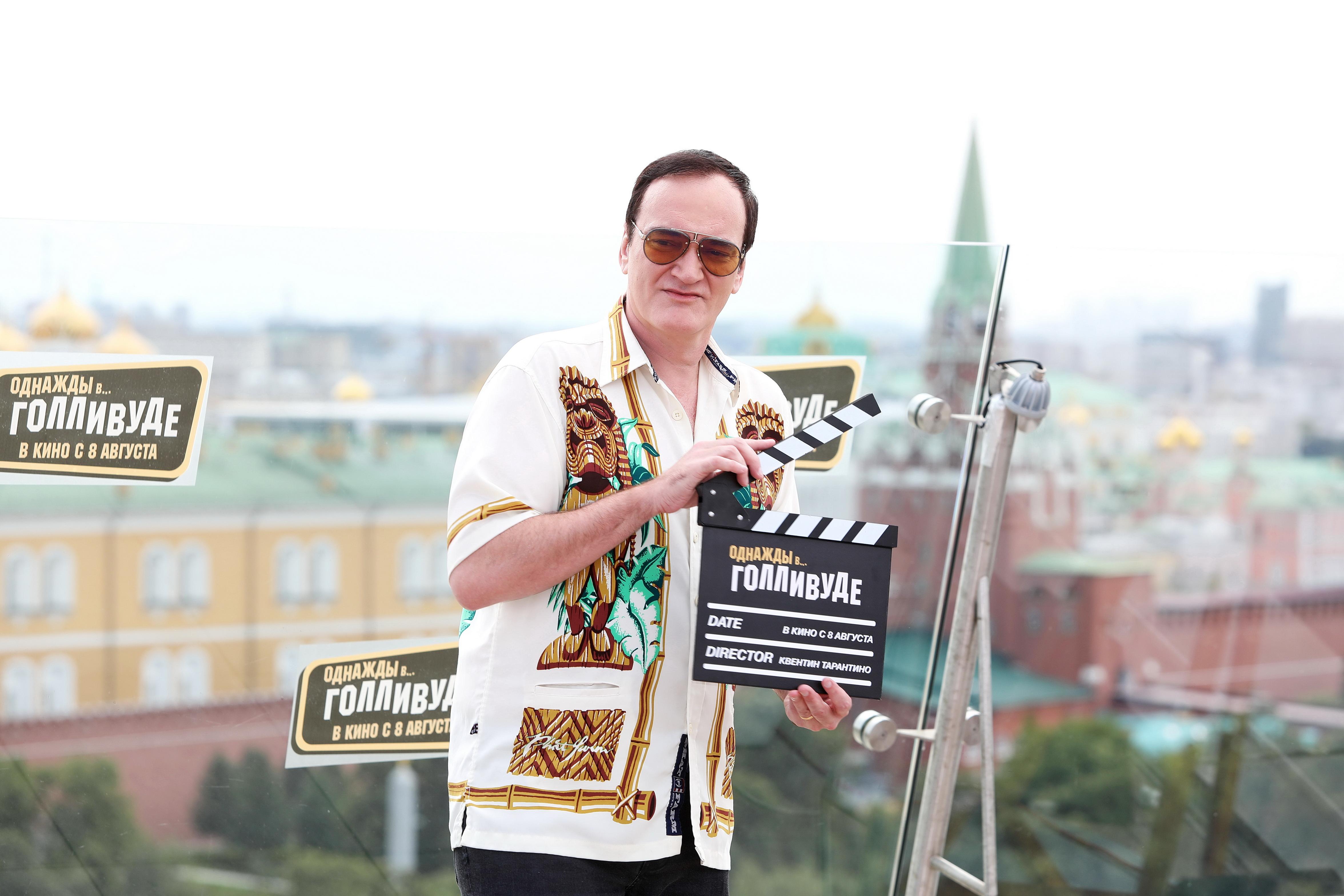 Тарантино представил «Однажды в… Голливуде» в Москве