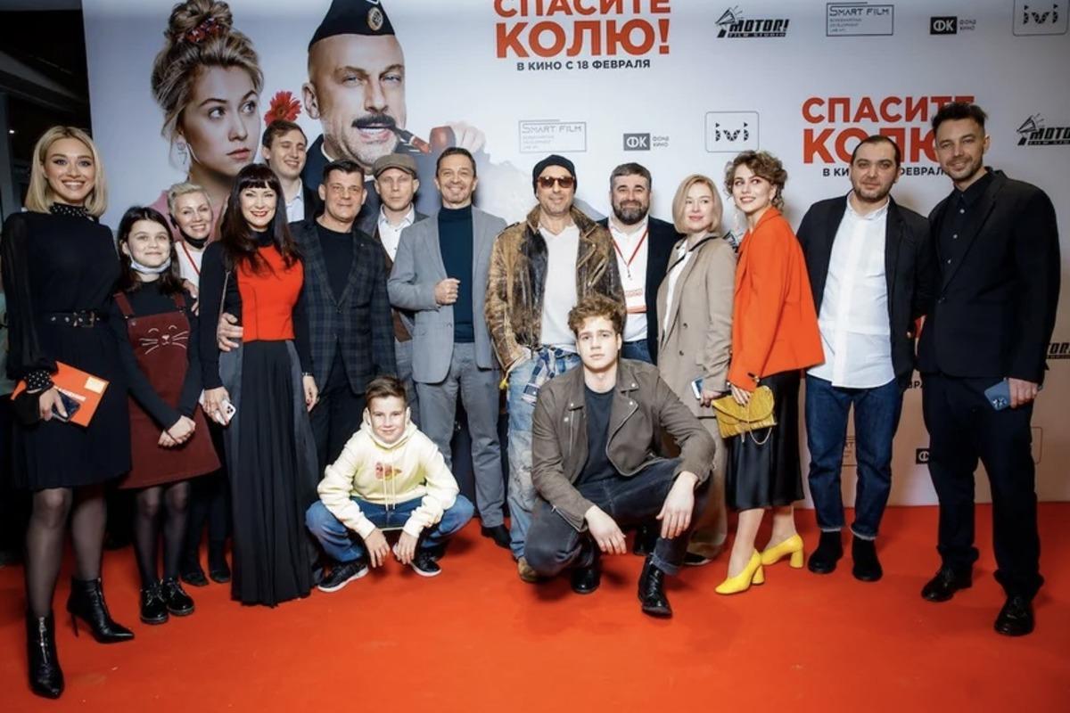 Нагиев и Родоная в комедии «Спасите Колю!»