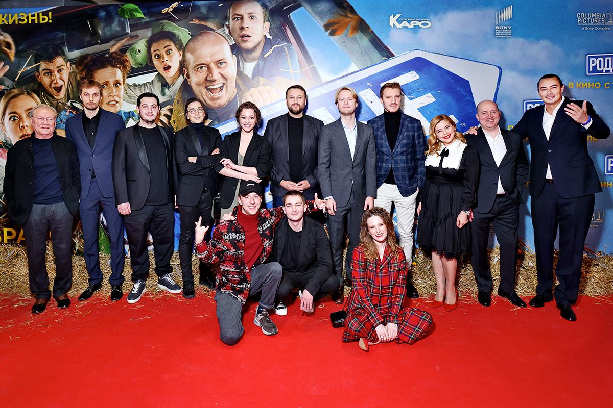 Бурунов и Трескунов в новой комедии «Родные»