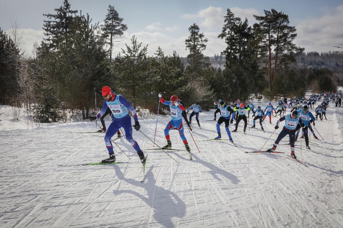 Праздник лыжного спорта в Дёмино