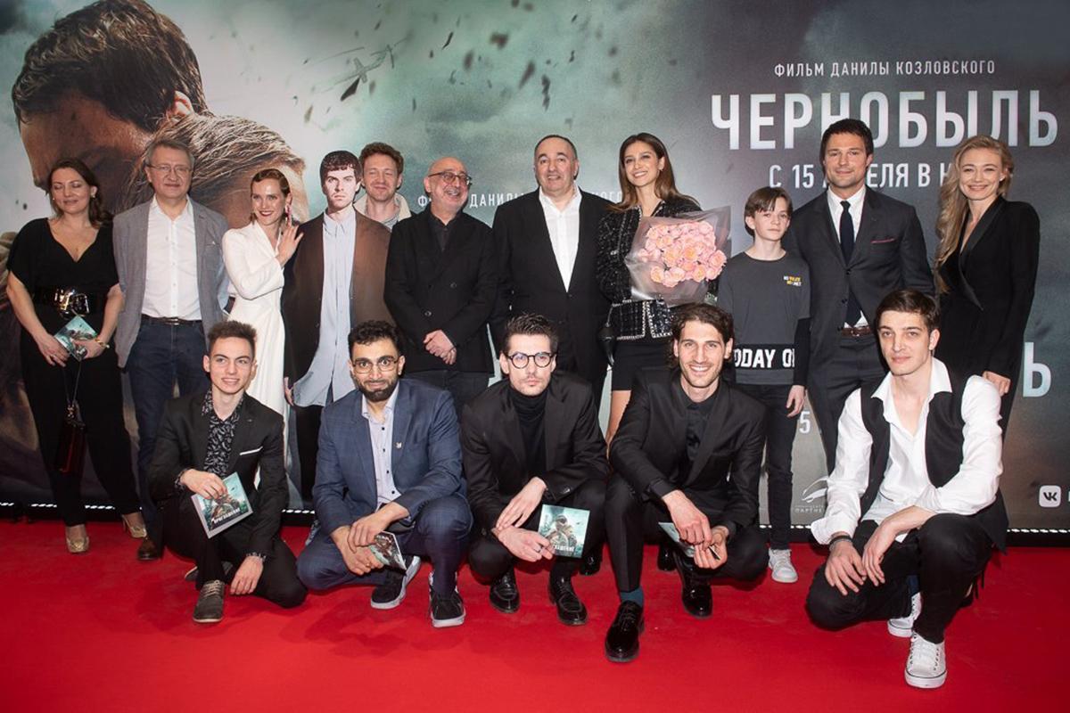 Российский актёр Козловский представил свой фильм «Чернобыль»